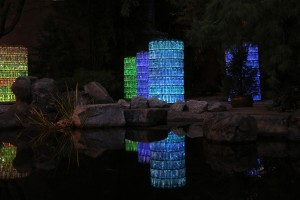 Water - Towers 2013 by Bruce Munro