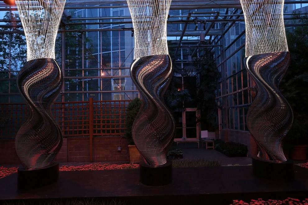 Image for Three Degrees.  Atlanta Botanical Garden 2015